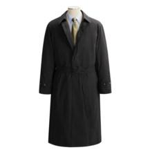 Lauren by Ralph Lauren Microfiber Rain Coat (For Men) in Black - Closeouts