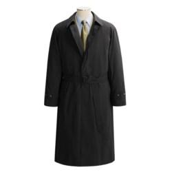 Lauren by Ralph Lauren Microfiber Rain Coat (For Men) in Black