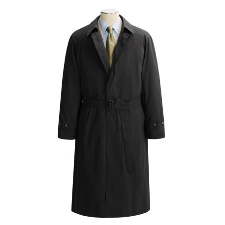 Lauren by Ralph Lauren Microfiber Rain Coat (For Men) in Black