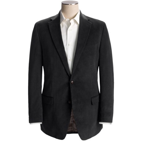 Lauren by Ralph Lauren Mini Corduroy Sport Coat - Cotton (For Men) in Black