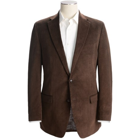 Lauren by Ralph Lauren Mini Corduroy Sport Coat - Cotton (For Men) in Dark Brown
