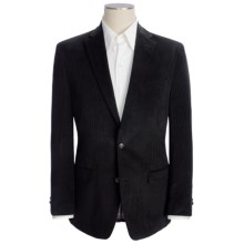 Lauren by Ralph Lauren Mini Corduroy Sport Coat - Elbow Patches (For Men) in Black - Closeouts