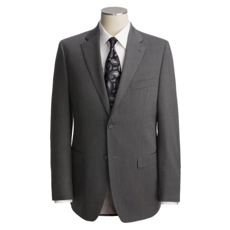 Lauren by Ralph Lauren Mini Stripe Suit - Trim Fit, Wool (For Men) in Grey