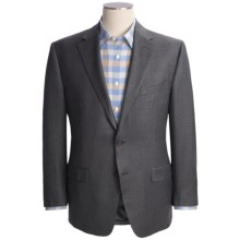 Lauren by Ralph Lauren Multi-Check Sport Coat - Silk-Wool-Cashmere (For Men) in Charcoal - Closeouts