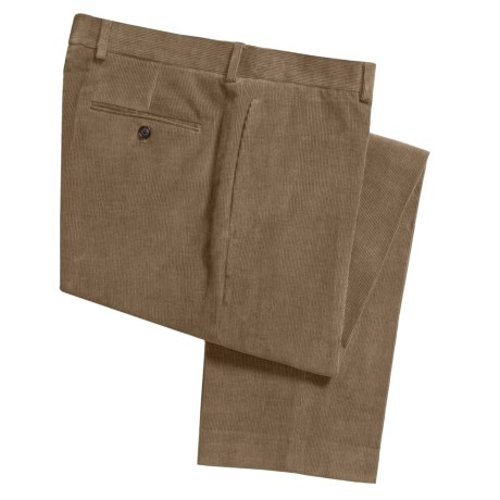 Lauren by Ralph Lauren Narrow-Wale Corduroy Pants (For Men) in Mulberry