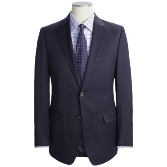 Lauren by Ralph Lauren Navy Wool Suit - Slim Fit (For Men) in Navy