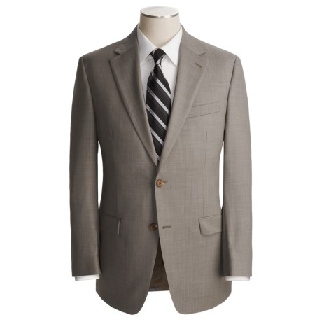 Lauren by Ralph Lauren Neat Suit - Wool (For Men) in Grey/Black