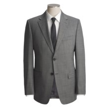 Lauren by Ralph Lauren Neat Trim Fit Suit - Wool (For Men) in Black/White - Closeouts