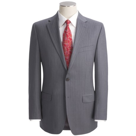 Lauren by Ralph Lauren Pinstripe Suit - Wool (For Men) in Grey