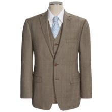 Lauren by Ralph Lauren Plaid Suit - Wool, 3-Piece (For Men) in Olive - Closeouts