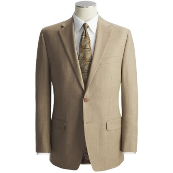 Lauren by Ralph Lauren Sharkskin Suit - Wool (For Men) in Tan