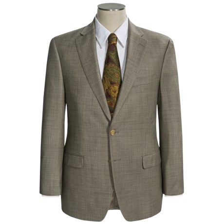 Lauren by Ralph Lauren Sharkskin Suit - Wool (For Men) in Taupe