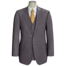 Lauren by Ralph Lauren Solid Suit - Wool, 3-Piece (For Men) in Grey - Closeouts