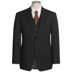 Lauren by Ralph Lauren Solid Wool Suit - 3-Piece (For Men) in Black