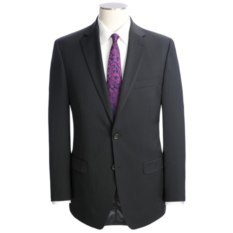 Lauren by Ralph Lauren Solid Wool Suit (For Men) in Black