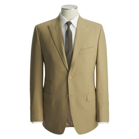 Lauren by Ralph Lauren Solid Wool Suit  (For Men) in Tan