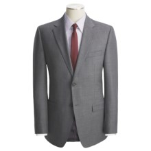 Lauren by Ralph Lauren Solid Wool Suit - Trim Fit (For Men) in Grey - Closeouts