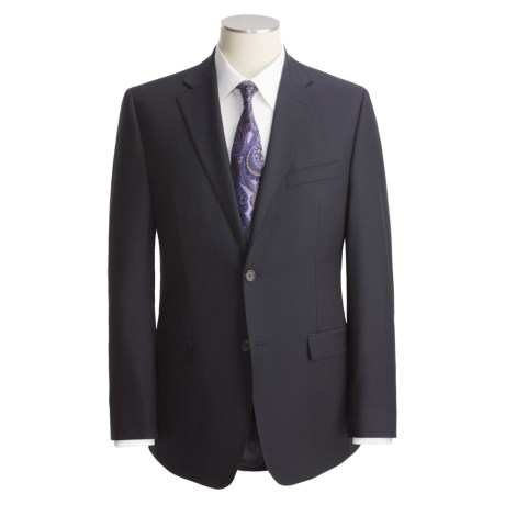 Lauren by Ralph Lauren Solid Wool Suit - Trim Fit (For Men) in Grey