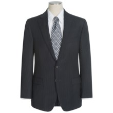 Lauren by Ralph Lauren Stripe Suit - Wool (For Men) in Black/Thin Stripe - Closeouts