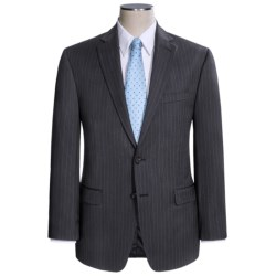 Lauren by Ralph Lauren Stripe Suit - Wool (For Men) in Grey