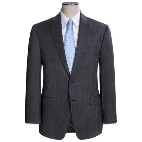Lauren by Ralph Lauren Stripe Suit - Wool (For Men) in Grey