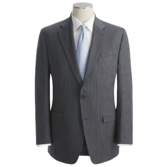 Lauren by Ralph Lauren Stripe Suit - Wool (For Men) in Medium Grey