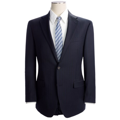 Lauren by Ralph Lauren Stripe Suit - Wool (For Men) in Navy/Blue