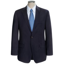 Lauren by Ralph Lauren Stripe Suit - Wool (For Men) in Black