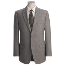 Lauren by Ralph Lauren Subtle Glen Plaid Suit - Wool (For Men) in Cream/Black - Closeouts