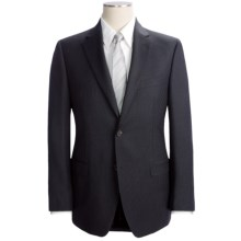 Lauren by Ralph Lauren Thin Beaded Stripe Suit - Slim Fit, Wool (For Men) in Charcoal - Closeouts