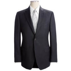 Lauren by Ralph Lauren Thin Beaded Stripe Suit - Slim Fit, Wool (For Men) in Charcoal
