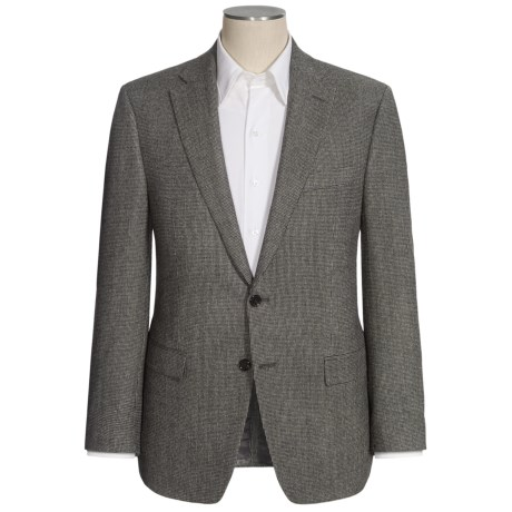 Lauren by Ralph Lauren Tic Weave Sport Coat - Wool (For Men) in Grey