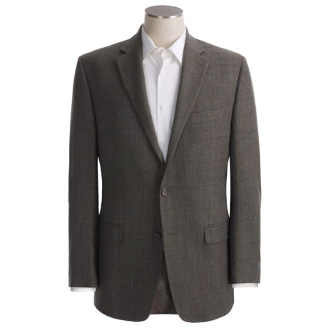 Lauren by Ralph Lauren Tic Weave Sport Coat - Wool (For Men) in Olive/Grey