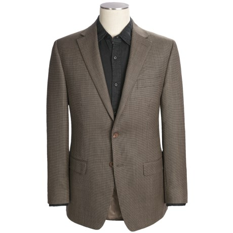 Lauren by Ralph Lauren Tic Weave Sport Coat - Wool (For Men) in Taupe