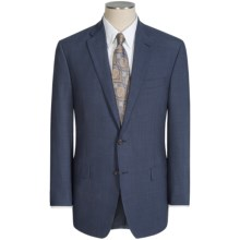Lauren by Ralph Lauren Tic Weave Suit - Ultraflex Wool (For Men) in Navy - Closeouts