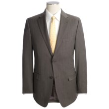 Lauren by Ralph Lauren Wool Birdseye Suit - Slim Cut (For Men) in Brown - Closeouts