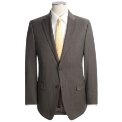 Lauren by Ralph Lauren Wool Birdseye Suit - Slim Cut (For Men) in Brown