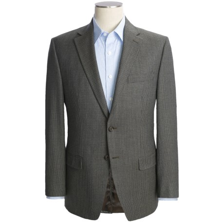 Lauren by Ralph Lauren Wool Check Sport Coat (For Men) in Dark Olive