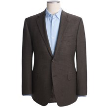 Lauren by Ralph Lauren Wool Gun Club Sport Coat - Slim Cut (For Men) in Brown - Closeouts