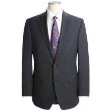 Lauren by Ralph Lauren Wool Mini-Beaded Stripe Suit (For Men) in Charcoal - Closeouts