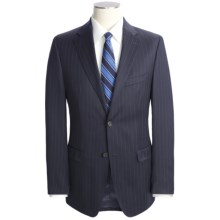 Lauren by Ralph Lauren Wool Pinstripe Suit  - Slim Cut (For Men) in Navy - Closeouts