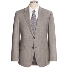 Lauren by Ralph Lauren Wool Sharkskin Suit - Slim Fit (For Men) in Grey - Closeouts