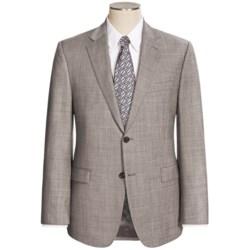 Lauren by Ralph Lauren Wool Sharkskin Suit - Slim Fit (For Men) in Grey