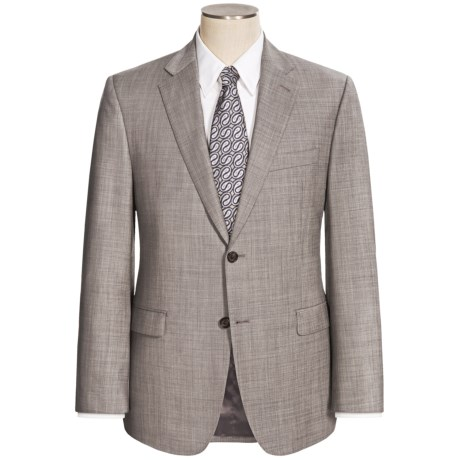 Lauren by Ralph Lauren Wool Sharkskin Suit - Slim Fit (For Men) in Grey