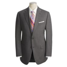 Lauren by Ralph Tic Weave Suit - Wool (For Men) in Charcoal - Closeouts