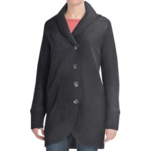 Lauren Hansen Boiled Wool Coat (For Women) in Black - Closeouts