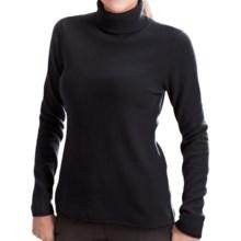 Lauren Hansen Cashmere Turtleneck Sweater (For Women) in Black - Closeouts