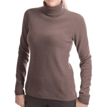Lauren Hansen Cashmere Turtleneck Sweater (For Women) in Brown - Closeouts
