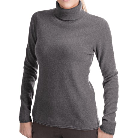 Lauren Hansen Cashmere Turtleneck Sweater (For Women)