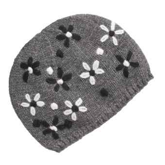 Lauren Hansen Embroidered Knit Cap (For Women)